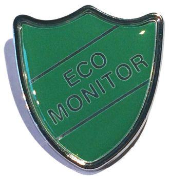 ECO MONITOR shield badge